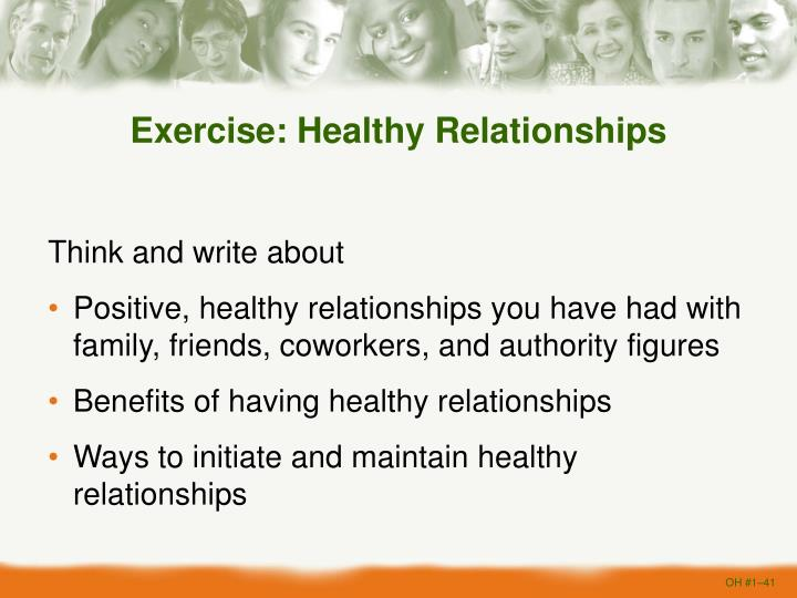 Exercise: Healthy Relationships