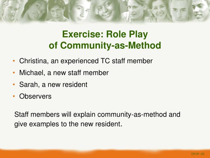 Exercise: Role Play