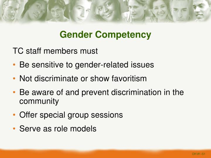 Gender Competency