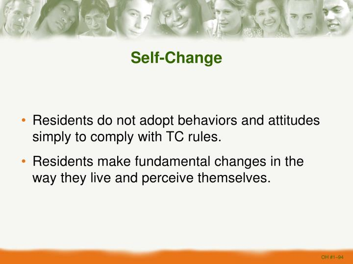 Self-Change