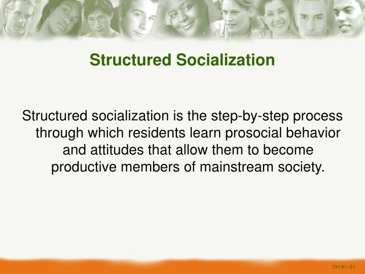 Structured Socialization