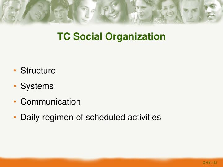 TC Social Organization