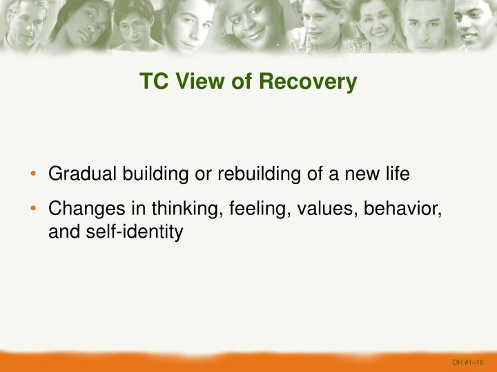 TC View of Recovery
