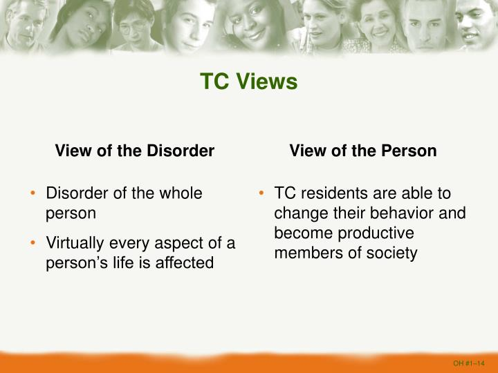 View of the Disorder