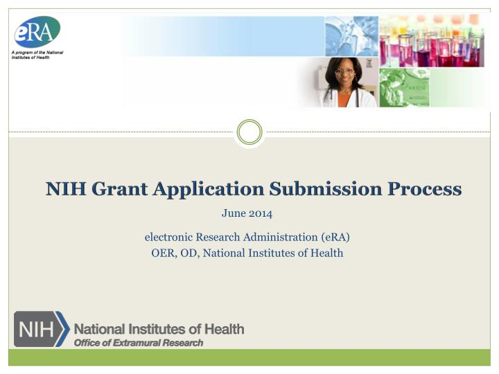 nih grant application submission process n.
