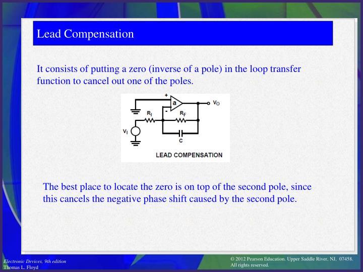 Lead Compensation