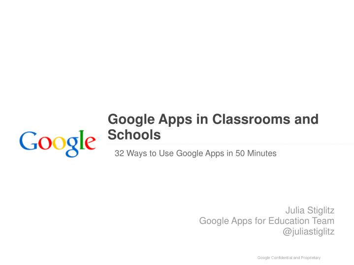 google apps in classrooms and schools n.