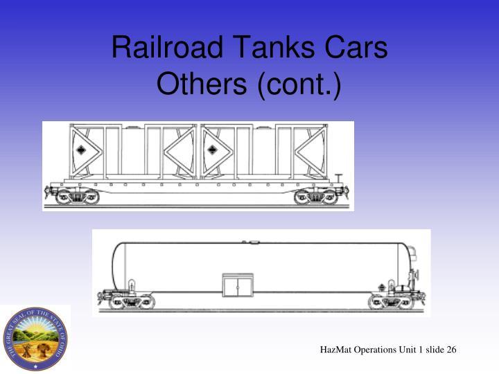 Railroad Tanks Cars