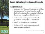 county agricultural development councils2