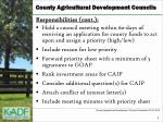 county agricultural development councils3