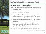 ky agricultural development fund2