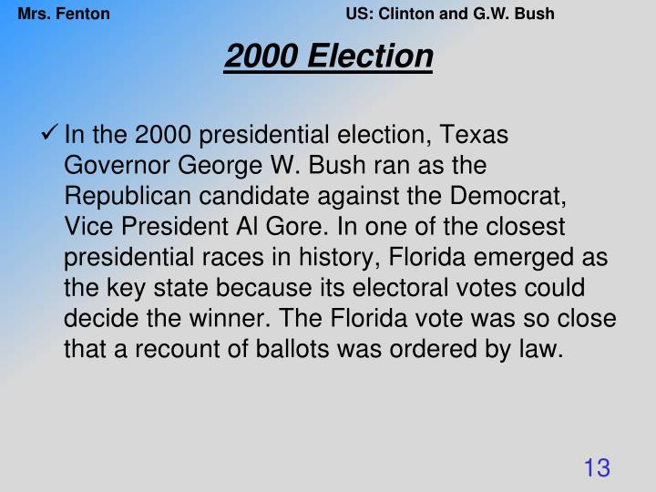 2000 Election