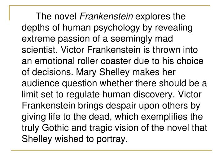 frankenstein abandonment loneliness and rejection essay Frankenstein: beauty vs uglinessfrankenstein: beauty vs ugliness there is more to beauty than what meets the eye in society, many people base beauty on outer looks alone rather than taki.