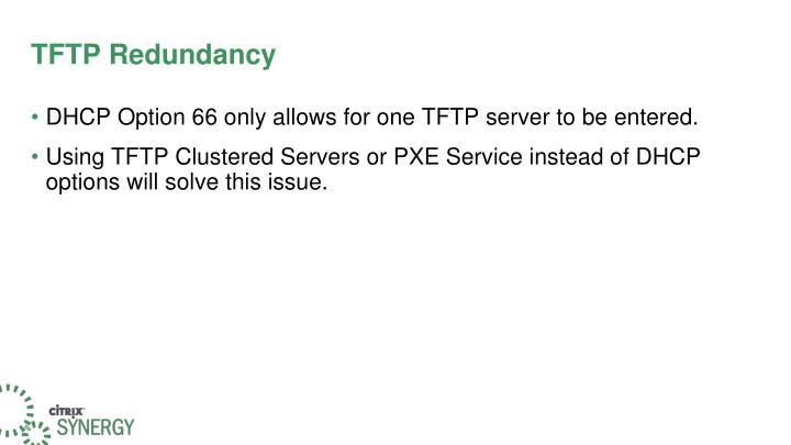 TFTP Redundancy