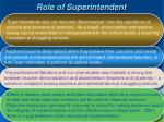 role of superintendent1
