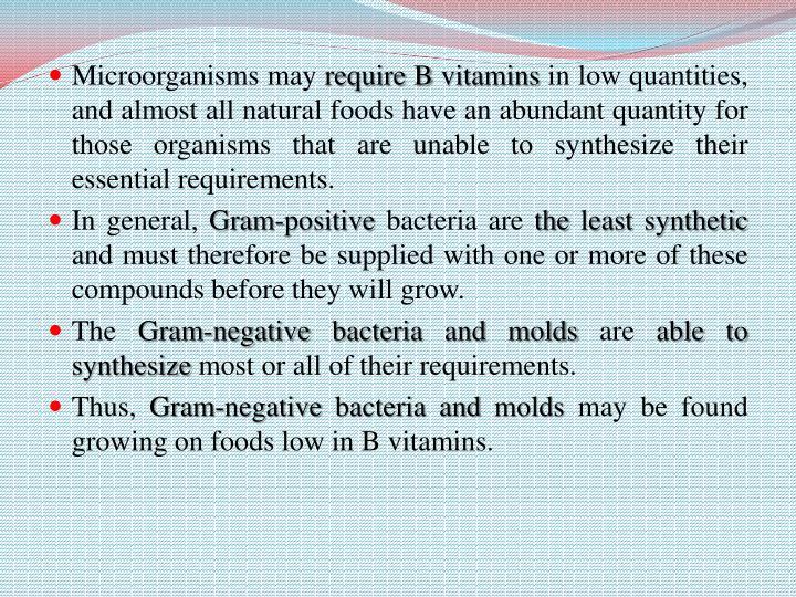 Microorganisms may