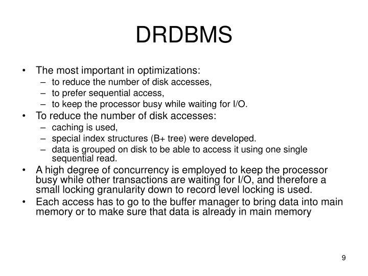 DRDBMS