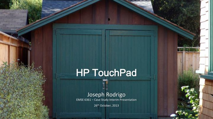 hp touchpad n.
