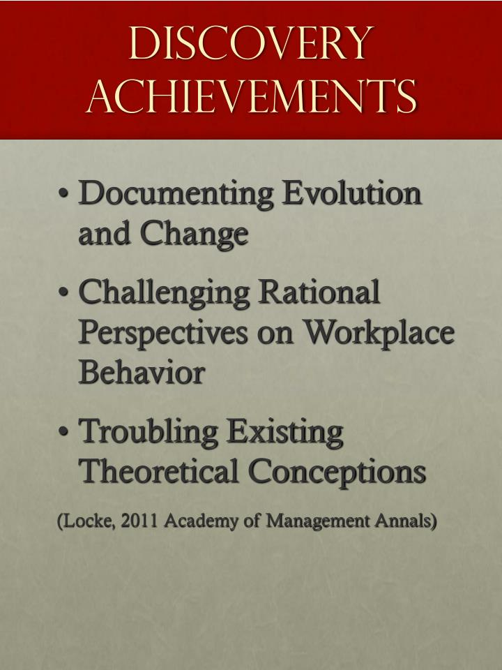 Discovery Achievements