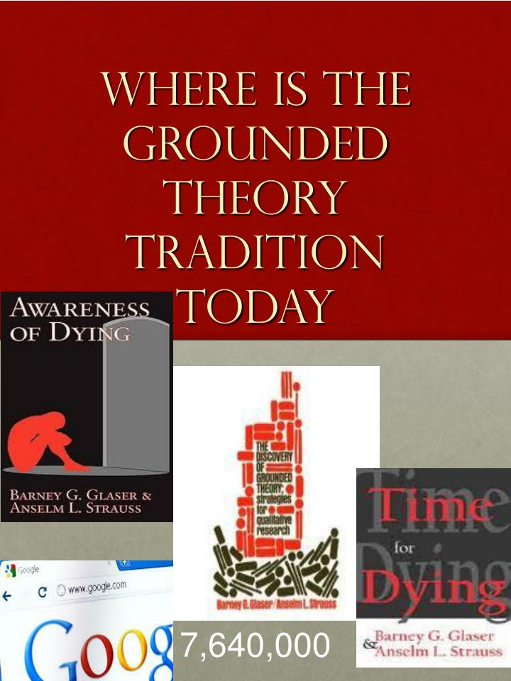 Where is the grounded theory tradition today