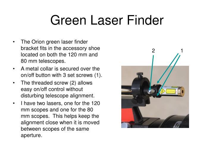 Green Laser Finder