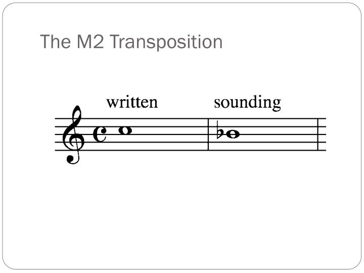 The M2 Transposition
