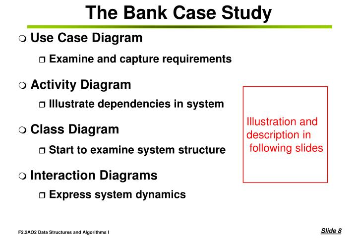 Ppt introduction to the unified modelling language pauline a the bank case study use case diagram ccuart Gallery