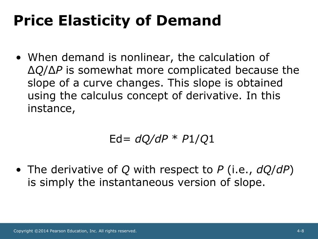 Ppt Chapter 4 Demand Elasticity Powerpoint Presentation Free