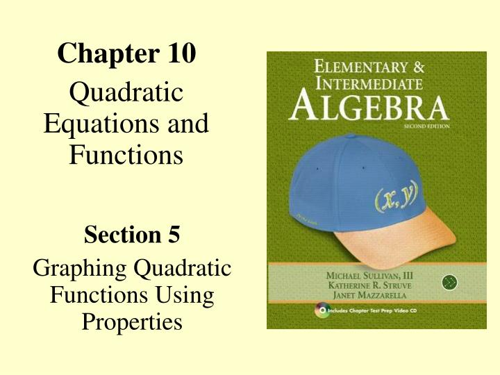 chapter 10 quadratic equations and functions n.