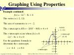 graphing using properties2