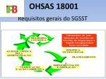 ohsas 180015