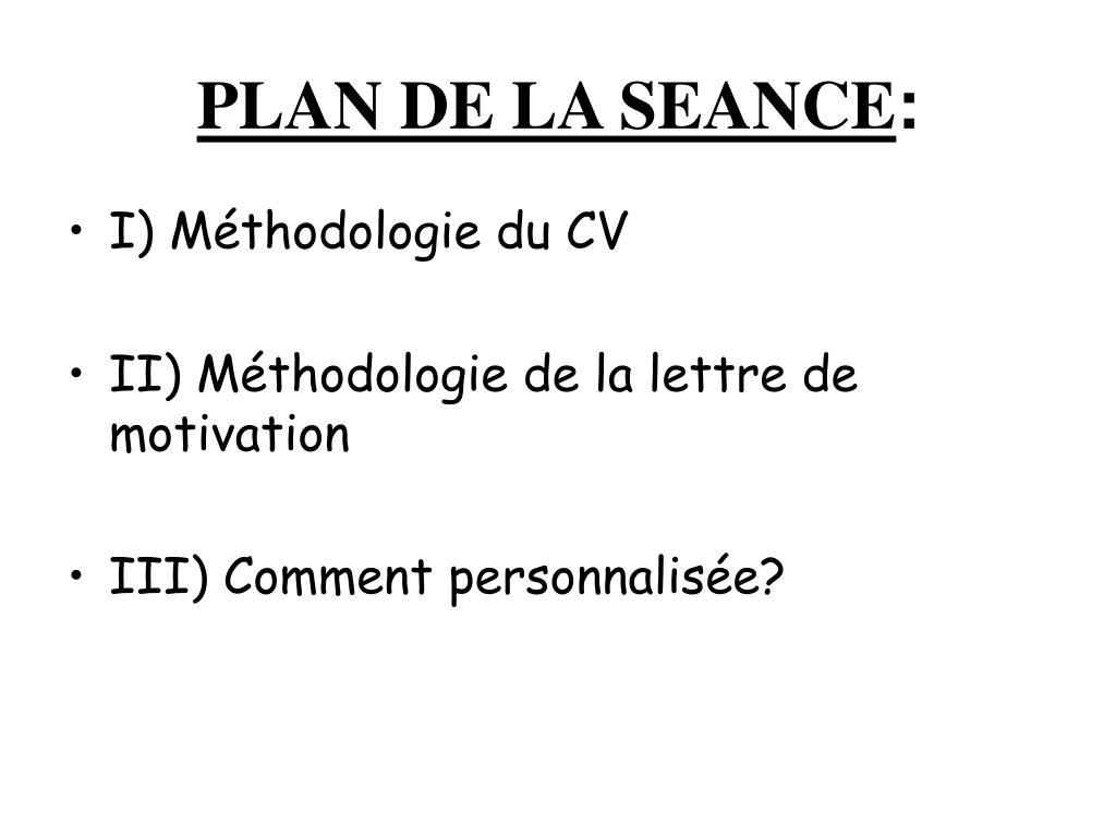 Ppt Module N 2 Cv Et Lettre De Motivation Powerpoint