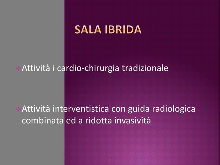 Attività i cardio-chirurgia tradizionale