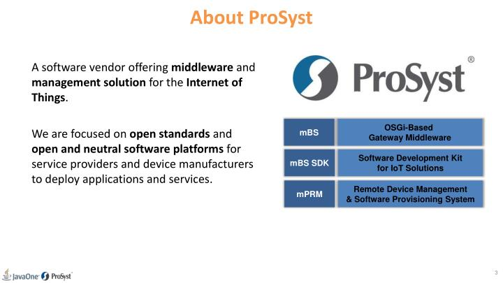 About prosyst