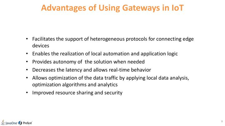 Advantages of Using Gateways in IoT