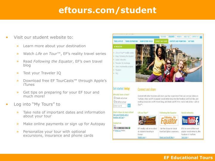 eftours.com/student