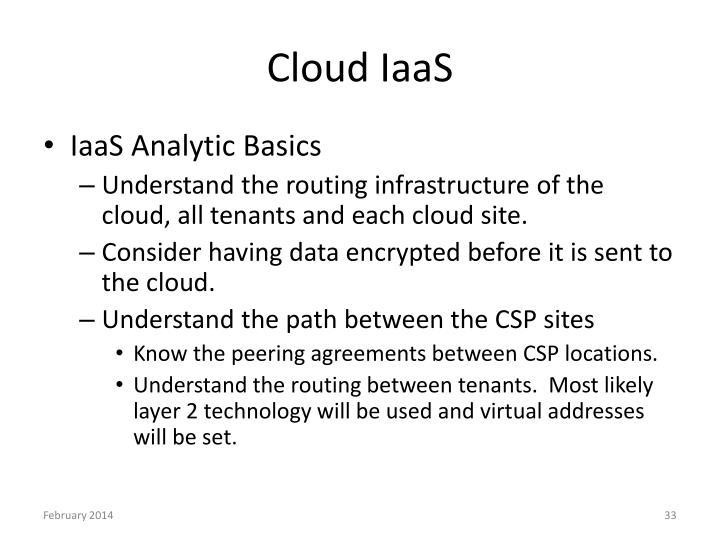Cloud IaaS