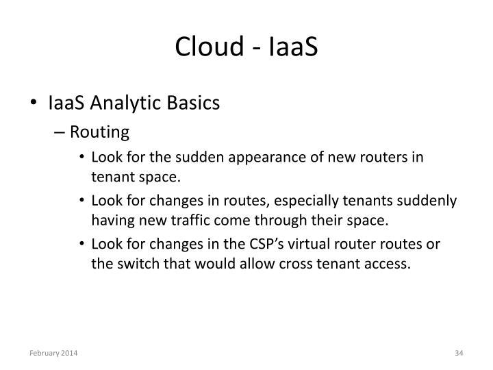 Cloud - IaaS