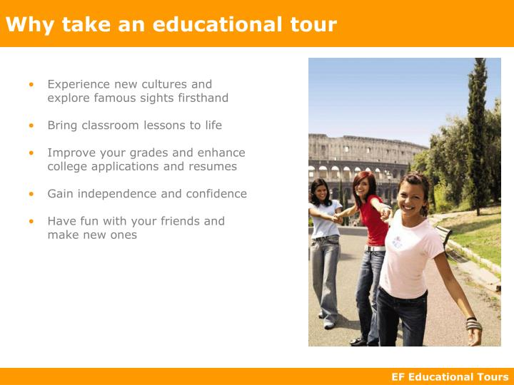 educational tour experience Educational tour package (osr vacation ) for last few years, has been specializing in effectively merging learning with travel by creating educational travel experiences for students across various.