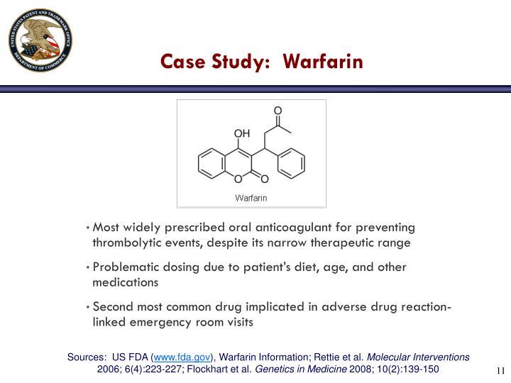 Case Study:  Warfarin