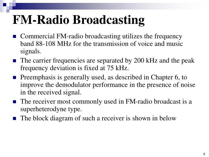 FM-Radio Broadcasting