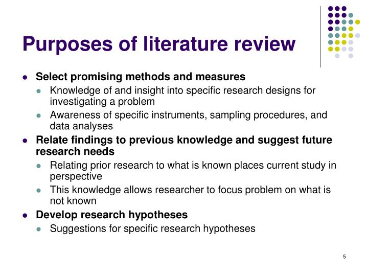 what is the purpose of literary research paper A literature review's purpose is to gather all the available sources related to your paper's topic in one place and evaluate them itemization of the gaps that you are planning to fill with your research if you are still unsure what the purpose of a literature review is, here are the top four key goals to help.