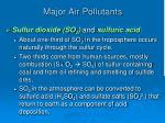 major air pollutants2
