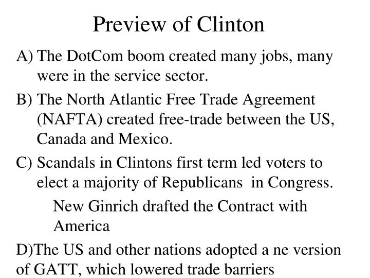 Preview of Clinton