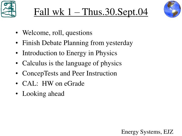 fall wk 1 thus 30 sept 04 n.