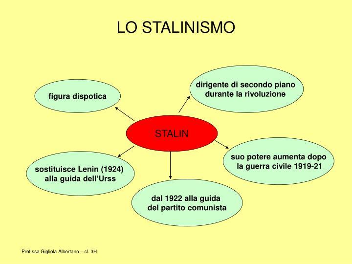 Lo stalinismo1