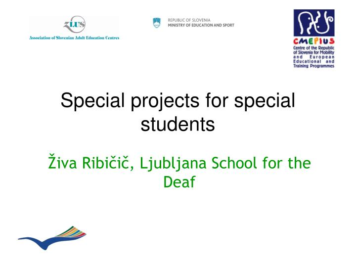 special projects for special students n.