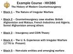 example course hh386 the history of modern counterinsurgency