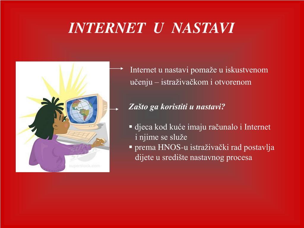 internet istraživački rad