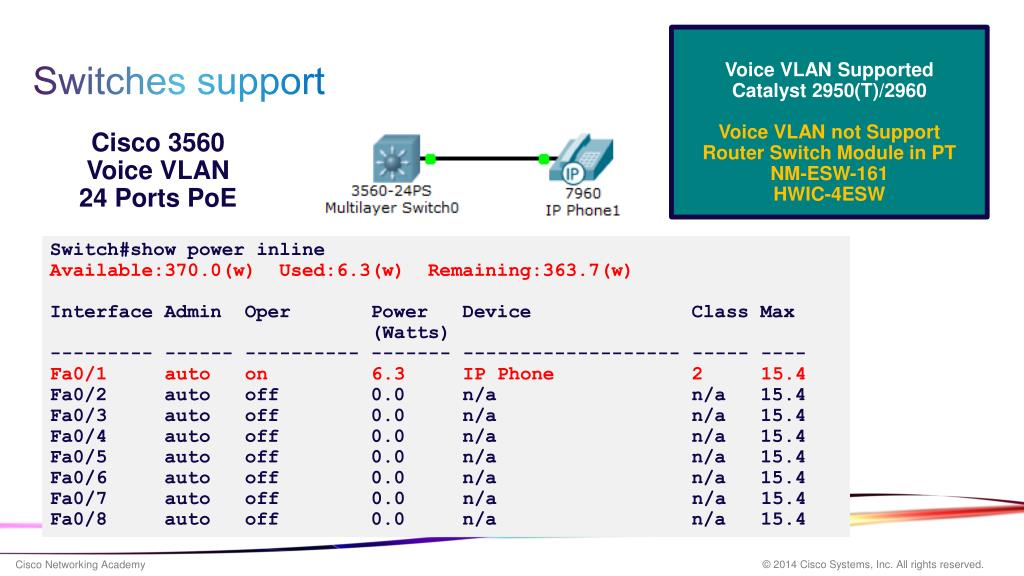 PPT - Packet Tracer 6 Building a VoIP Network Part 1 PowerPoint